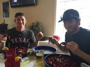 Best Friends & Crawfish