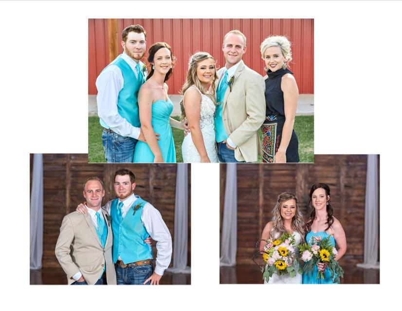 Des and Charlies Wedding